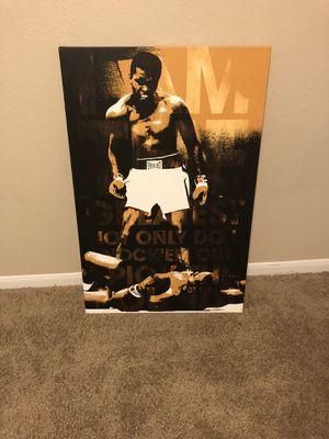 Canvas Ali for Sale in Dallas, TX