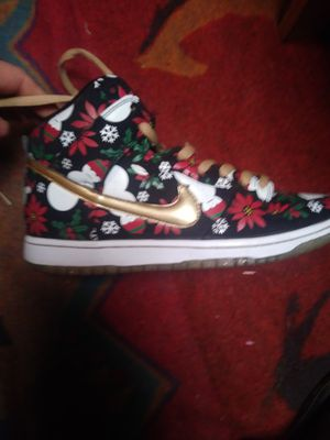 Concepts x Dunk High SB Premium 'Ugly Christmas Sweater, used for sale  Tulsa, OK
