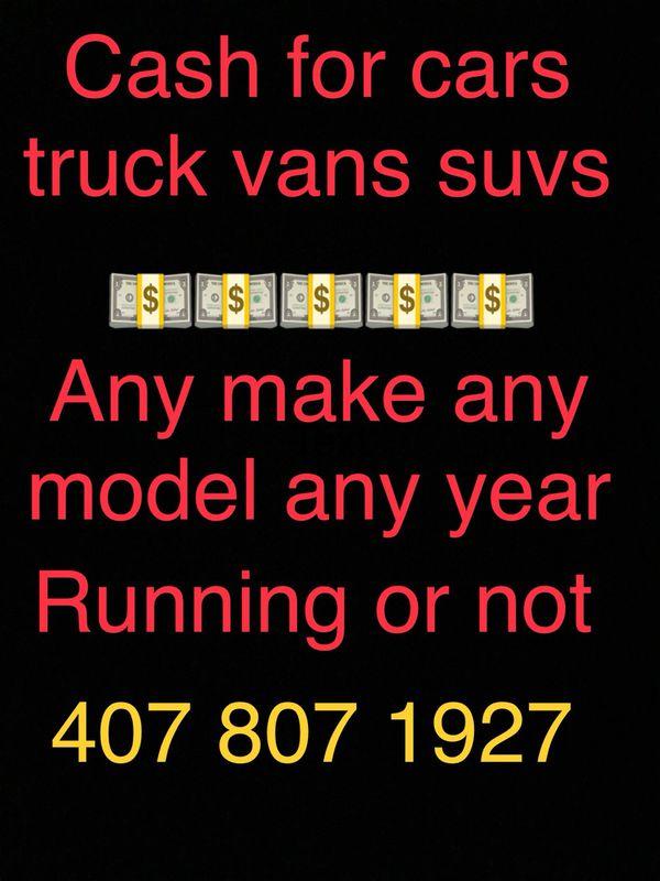 Cash for cars (Cars & Trucks) in Davenport, FL - OfferUp