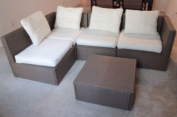 Outdoor 4 Seat Sectional Sofa Ikea Arholma