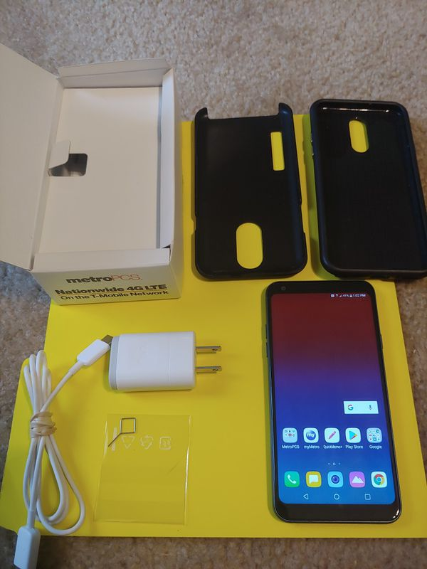 LG Q7+ plus silicone case metro pcs 64gb new for Sale in Lawrenceville, GA  - OfferUp