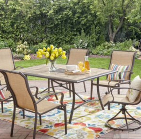 New Patio Set Patio Dinning Set 7 Pc Patio Dinning Set