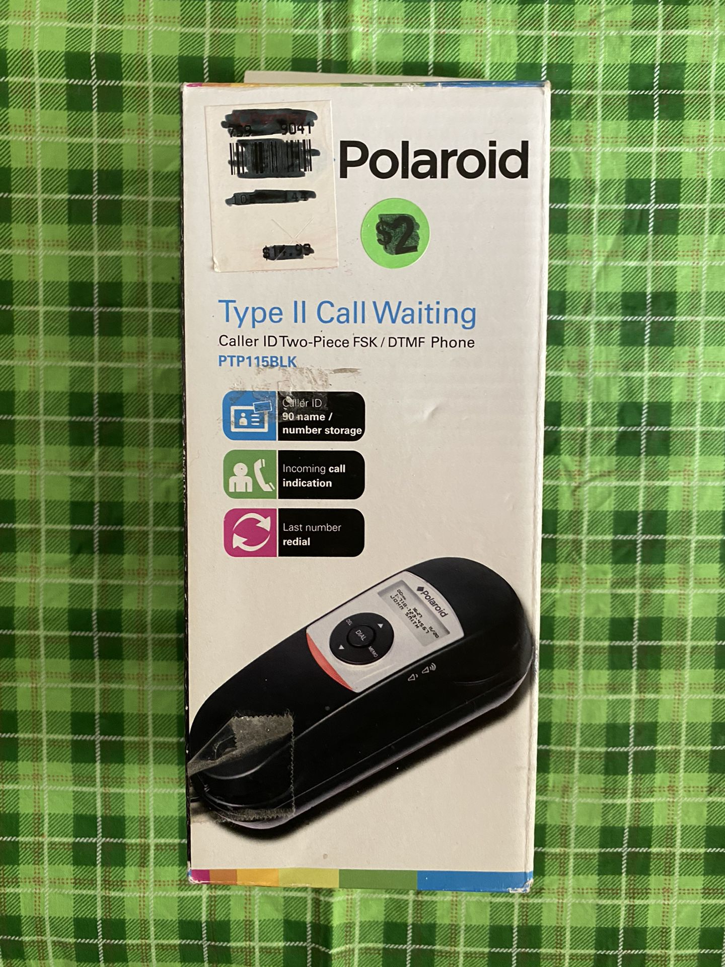 New Polaroid Type II Call Waiting