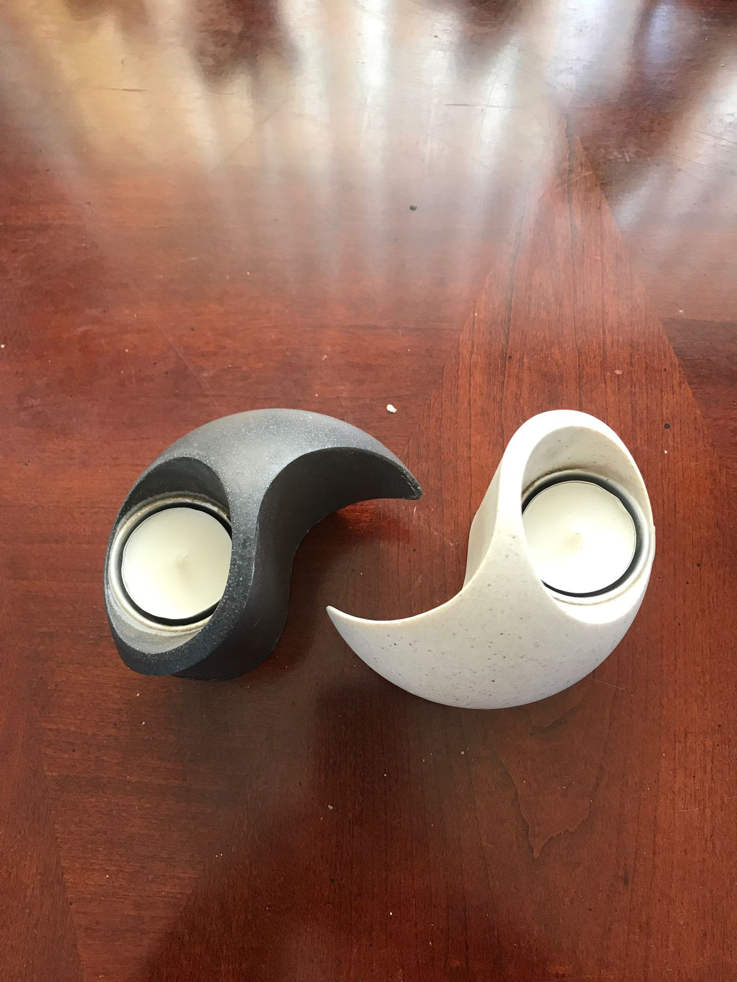 Yin Yang candle holder