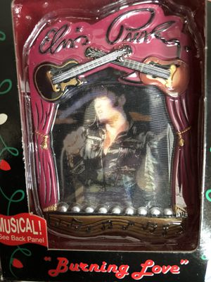 New and used collectibles for sale in chicago il offerup elvis american greetings burning love musical ornament for sale in joliet il m4hsunfo