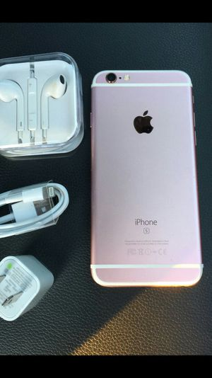 iPhone 6S [64GB] - factory UNLOCKED and like NEW for Sale in Springfield, VA