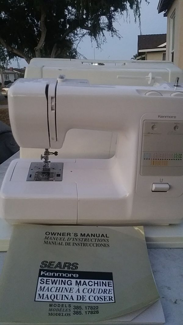 Kenmore Sewing Machine Model 40 For Sale In Gardena CA OfferUp Extraordinary Kenmore Sewing Machine Model 385 Owners Manual