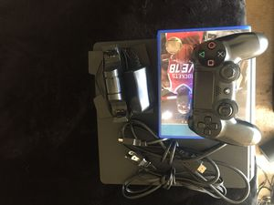 PlayStation 4.. one dual charger/one Power cord/one HMID cord/one controller for Sale in Fort Washington, MD