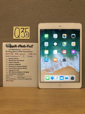Q35A - iPad mini 2 16GB Cellular for Sale in Los Angeles, CA