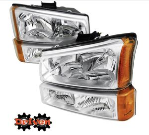 03-06 Chevy Silverado Headlights kit for Sale in Forney, TX