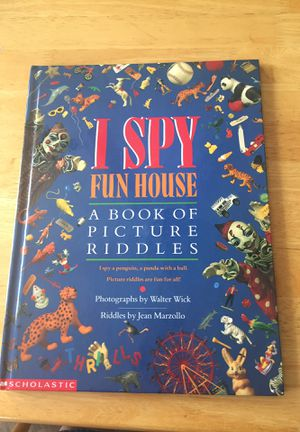 I Spy Fun House- A Book of Picture Riddles for Sale in Poolesville, MD