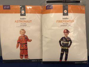 Astronaut and fireman costumes $8 ea. for Sale in Woodbridge, VA