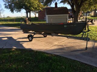 Duck Hunting Boats For Sale >> Great Fishing Boat Duck Hunting Boat For Sale In San Antonio Tx Offerup