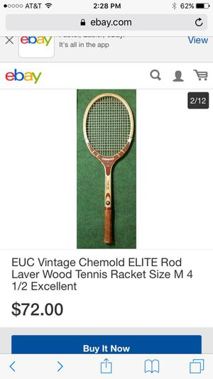Vintage Tennis Racket In Better Then Good Condition For Sale In Moreno Valley Ca Offerup