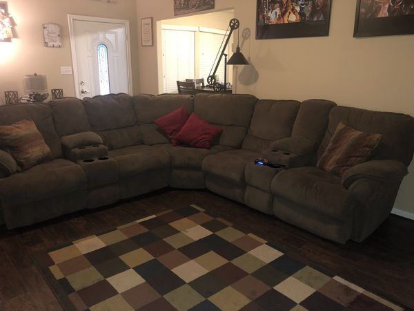 Reclining Sectional From Ashley Furniture Conroe Tx