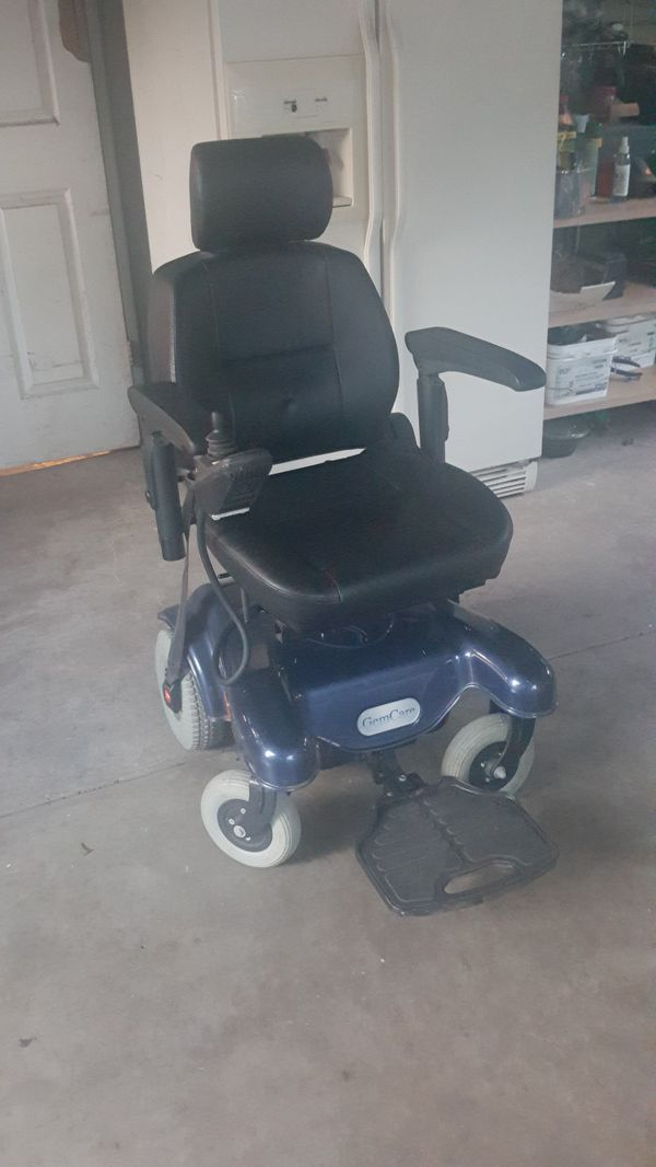 Electric Wheelchair GemCare for Sale in San Antonio, TX - OfferUp