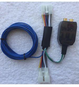 Photo Toyota Lexus Scion Factory Radio Add A Subwoofer Amplifier Plug & Play Harness