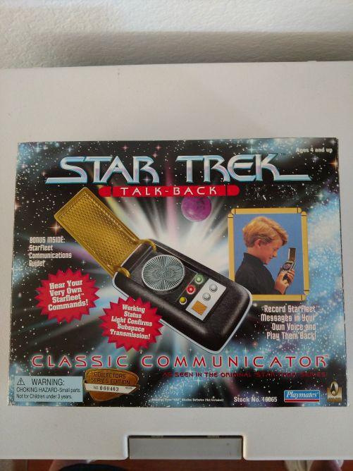 1996 Star Trek TalkBack classic communicator for Sale in Hemet, CA - OfferUp