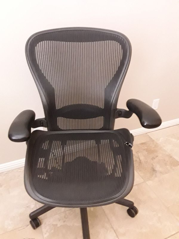 Herman Miller Aeron Chair Size C For Sale In Scottsdale Az Offerup