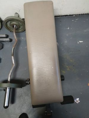 Ad-hoc weights and Bench for Sale in TATAMY Borough, PA