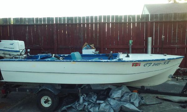 13ft Fishing Boat And Trailer For Sale In San Lorenzo Ca Offerup