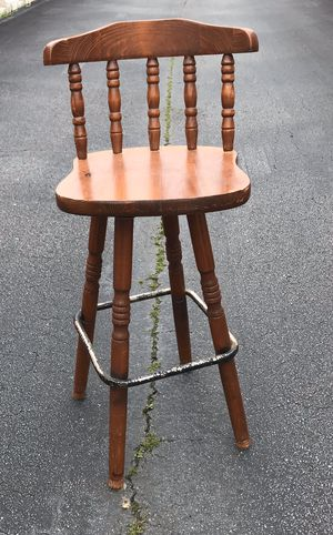 Photo Two bar stools 30 for both