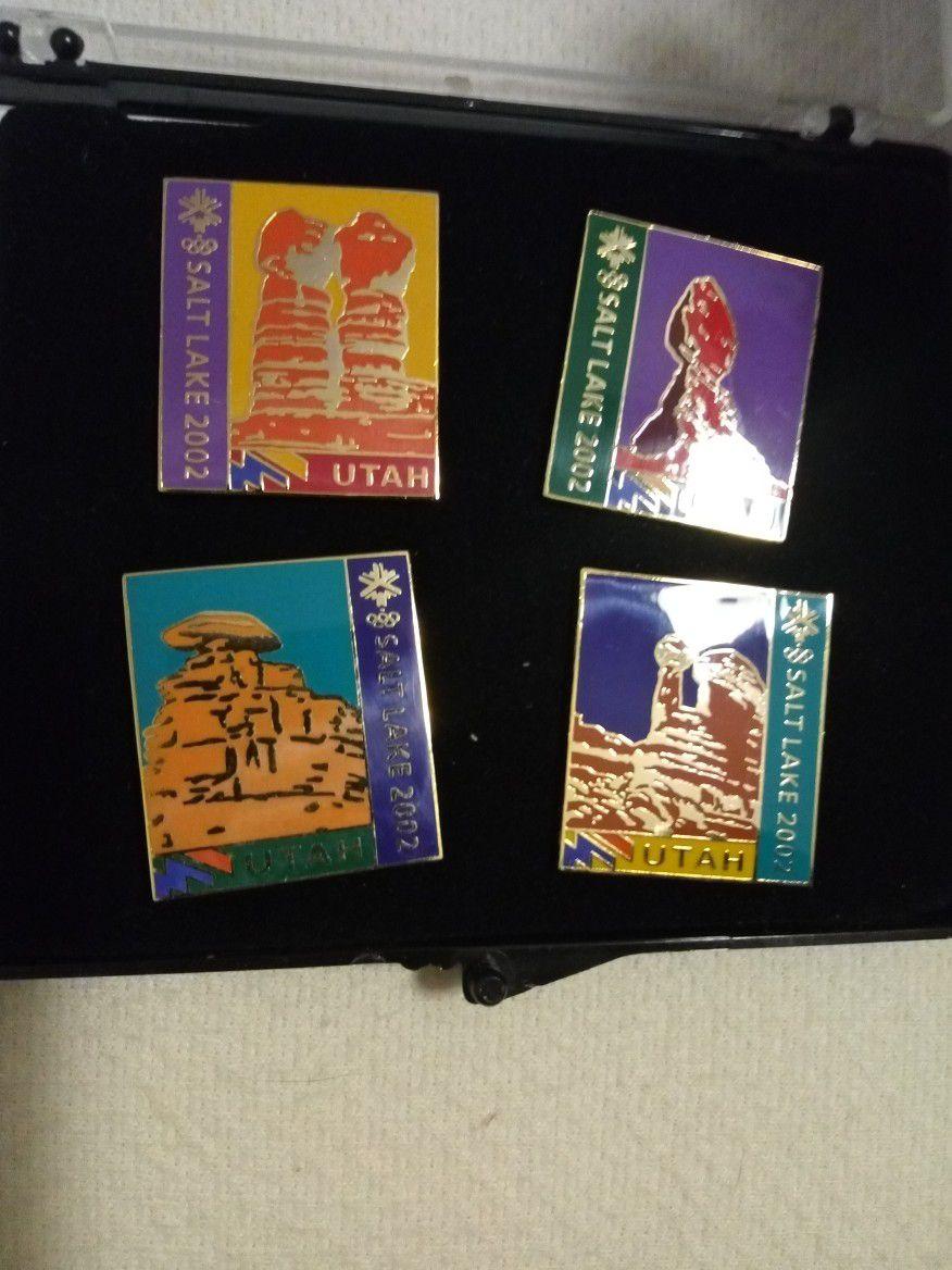 Utah Commemorative Pin Set