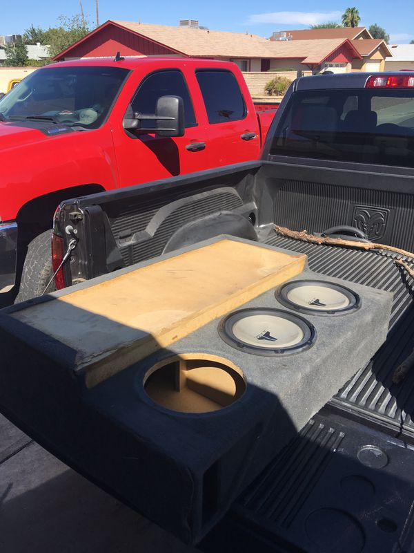 Custom Ford Excursion Subwoofer Box For Sale In Glendale Az Offerup