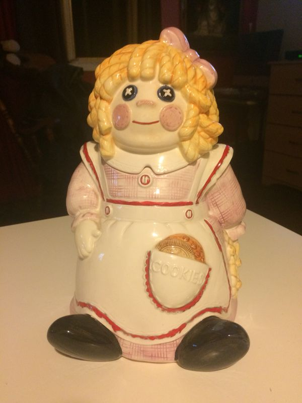Cookie Jar Staten Island Cool Sigma Raggedy Ann Cookie Jar For Sale In Staten Island NY OfferUp