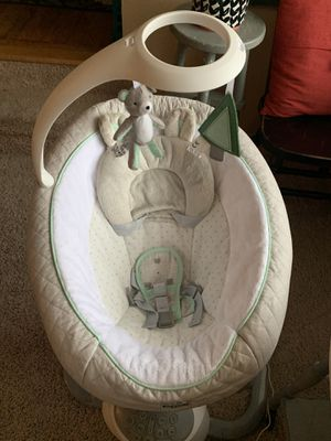 Photo Graco two piece baby swing