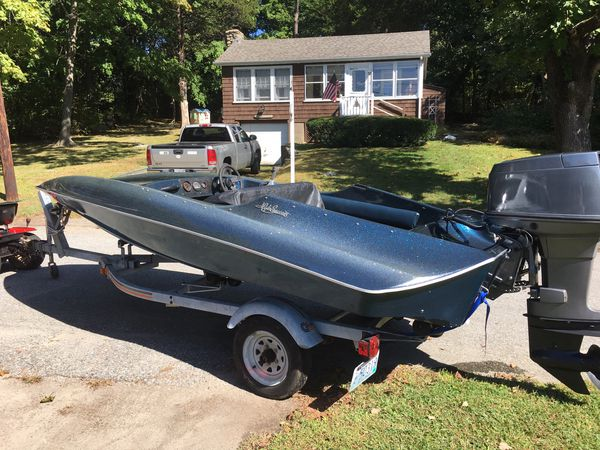 1985 hydrostream 15ft viper with 90hp yamaha and trailer