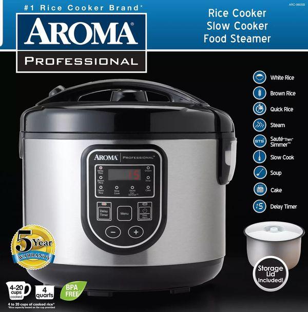 Aroma No 1 Professional Cooker Model No Arc980sb New