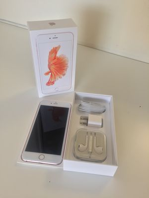 IPhone6s Plus Factory Unlocked + box and accessories + 30 day warranty for Sale in Springfield, VA