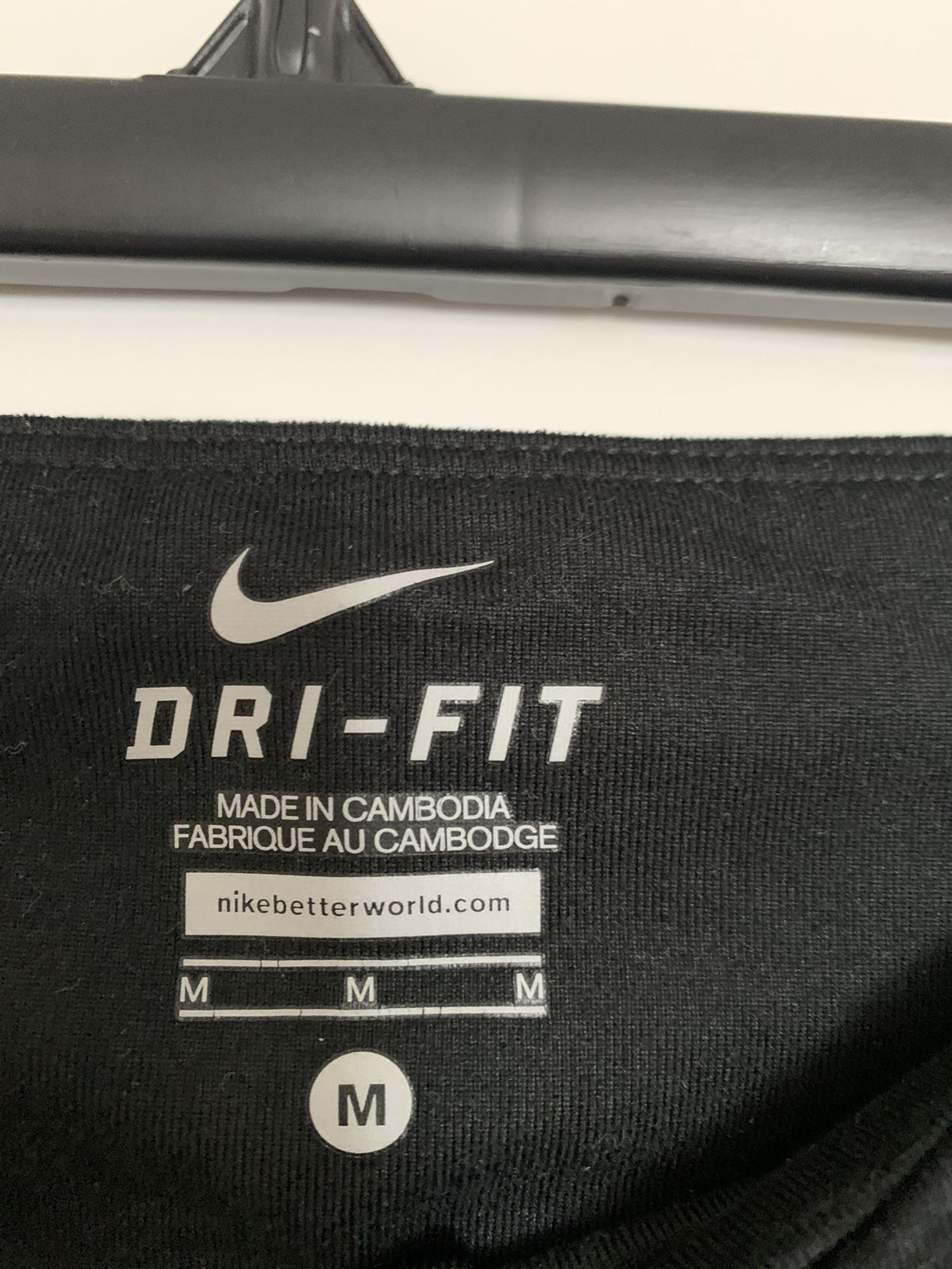 Nike Woman Leggings , Black Color, Size m