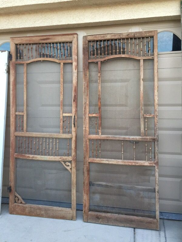 Two rustic antique vintage doors - reclaimed salvaged (Furniture) in Las  Vegas, NV - OfferUp - Two Rustic Antique Vintage Doors - Reclaimed Salvaged (Furniture) In