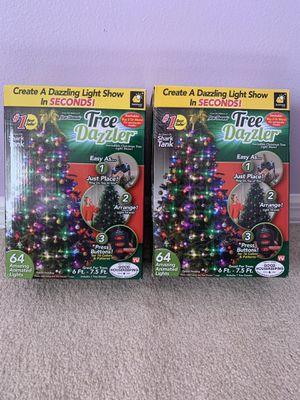 Christmas lights,Christmas tree decoration,Tree dazzler for Sale in Orlando, FL