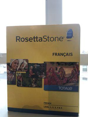 French Rosetta Stone Levels 1-5 NIB for Sale in Portland, OR