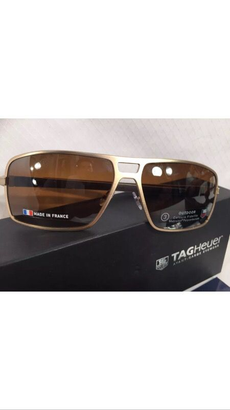 617a4015779 Tag Heuer TH0987 Senna Racing Sunglasses 203 Brushed New Gold Authentic  62-15 for Sale in Boca Raton