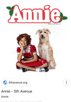 Annie tickets @ The 5th Avenue for Sale in Seattle, WA