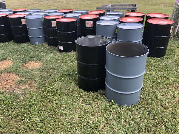 "Food grade burn barrels for a good price. ""Free Seasoning ..."