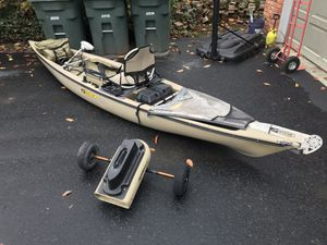 Almost New - Fishing Kayak for Sale in Seattle, WA