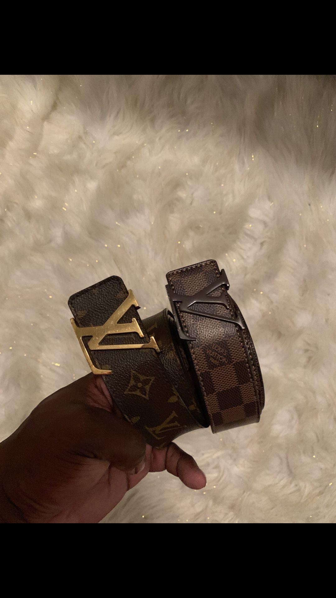Authentic Louis Vuitton Belts