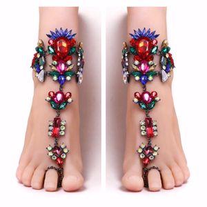 Ankle bracelet beach charm anklet barefoot sandal for Sale in Fairfax, VA
