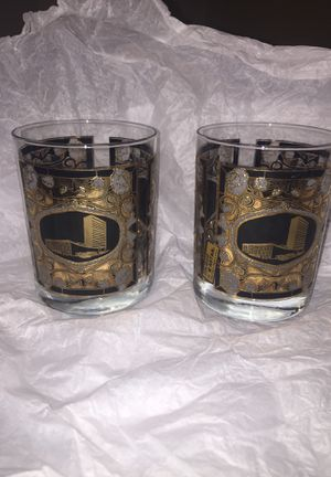 Whisky glasses - 22k Gold for Sale in Colesville, MD