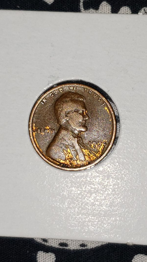1935 Wheat Penny gold tone clad error for Sale in Allentown, PA - OfferUp