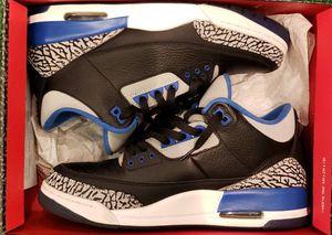 "AIR JORDAN III SPORTS BLUE SIZE 10 ""MUST GO"" $139 for Sale in Santa Ana, CA"