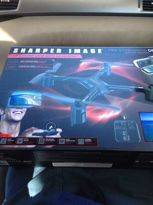 Sharper Image Fpv Streaming Drone Dx 4 Brand New Unopened For Sale