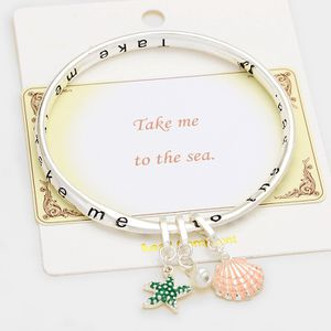 Take Me to the Sea Message Bracelet for Sale in Windermere, FL