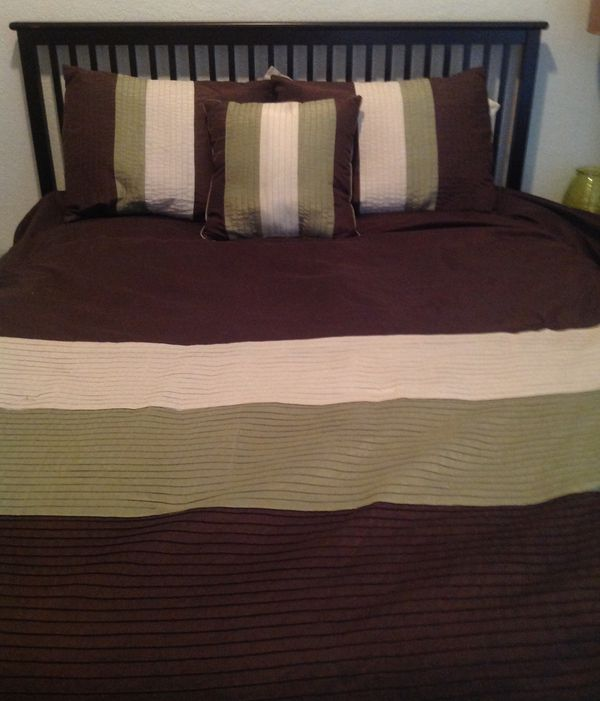 queen size comforter set for sale in ocoee fl offerup