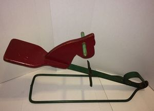 Antique Handmade Bouncy Hobby Horse, one-person seesaw for Sale in Chantilly, VA